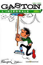 Couverture 1961-1962 - Gaston (L'Intégrale Version Originale), tome 3