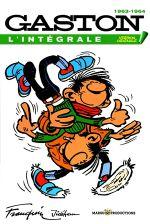 Couverture 1963-1964 - Gaston (L'Intégrale Version Originale), tome 4