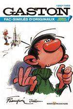 Couverture 1957-1966 : Fac-Similés d'originaux - Gaston (L'Intégrale Version Originale), tome 8