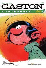 Couverture 1970 - Gaston (L'Intégrale Version Originale), tome 10
