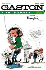Couverture 1974-1977 - Gaston (L'Intégrale Version Originale), tome 14