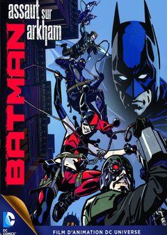 Affiche Batman : Assaut sur Arkham