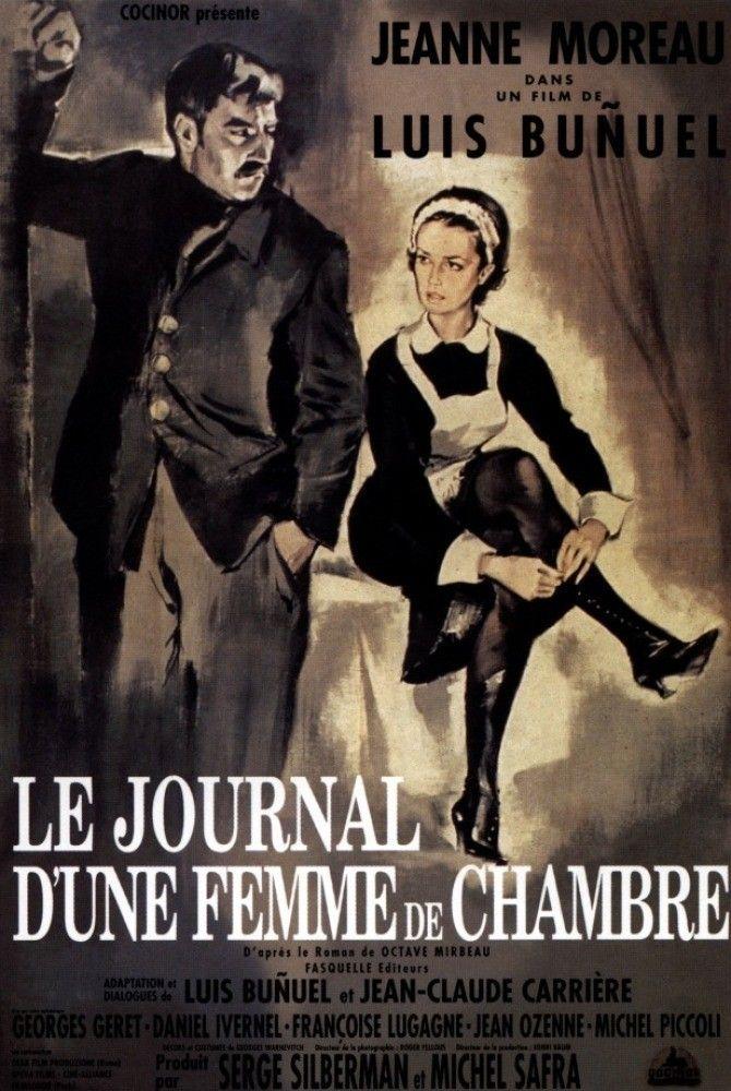 Le journal d 39 une femme de chambre film 1964 senscritique - Le journale des femmes ...