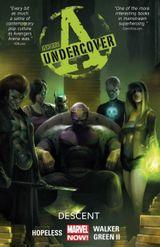 Couverture Descent - Avengers Undercover, tome 1