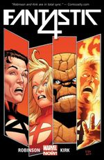 Couverture The Fall of the Fantastic Four - Fantastic Four (2014), tome 1
