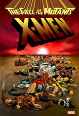 Couverture X-Men: Fall of the Mutants Omnibus