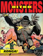 Couverture Steve Ditko's Monsters Volume 2: Konga