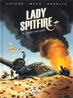 Couverture Desert Air Force - Lady Spitfire, tome 4
