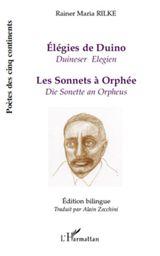 Couverture Élégies de Duino / Les sonnets à Orphée