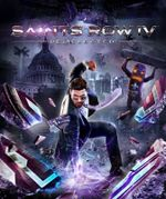 Jaquette Saints Row IV : Re-Elected