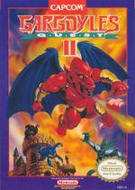 Jaquette Gargoyle's Quest II