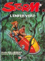 Couverture L'Enfer Vert - Storm, tome 4