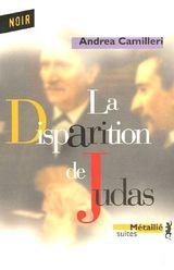 Couverture La disparition de Judas