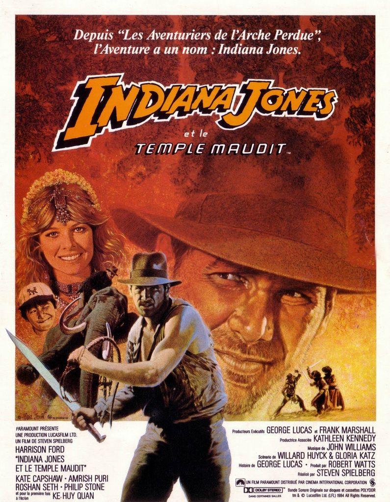 Indiana Jones Et Le Temple Maudit Film 1984 Senscritique