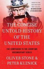 Couverture The Concise Untold History of the United States
