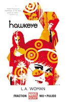 Couverture L.A. Woman - Hawkeye, tome 3