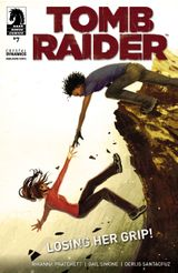 Couverture Losing Her Grip! - Tomb Raider #7