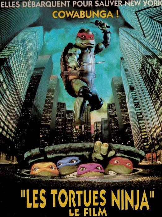 Les tortues ninja le film film 1990 senscritique - Les nom des tortues ninja ...