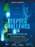 Affiche Deepsea Challenge 3D, l'aventure d'une vie