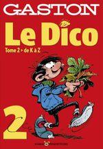 Couverture Gaston : Le Dico, tome 2 (hors-série)