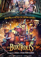 Affiche Les Boxtrolls
