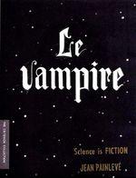 Affiche Le Vampire