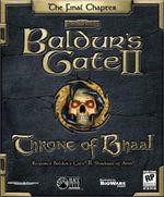 Jaquette Baldur's Gate II: Throne of Bhaal