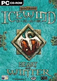 Jaquette Icewind Dale: Heart of Winter