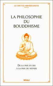 Couverture La philosophie du bouddhisme