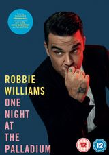 Affiche Robbie Williams One Night at the Palladium
