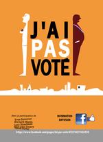 Affiche J'ai pas voté