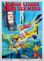 Affiche 30000 lieues sous les mers