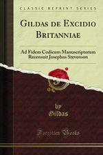 Couverture De excidio Britanniae