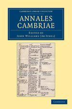 Couverture Annales Cambriae