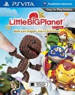 Jaquette LittleBigPlanet PlayStation Vita : Marvel Super Hero Edition