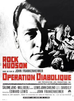 Affiche Opération diabolique