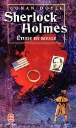Couverture Une étude en rouge - Sherlock Holmes, tome 1