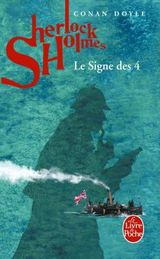 Couverture Le signe des Quatre - Sherlock Holmes, tome 2