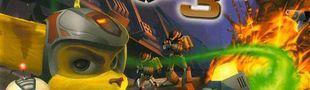 Jaquette Ratchet & Clank 3