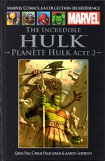 Couverture The Incredible Hulk : Planète Hulk, acte 2
