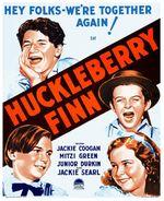 Affiche Huckleberry Finn