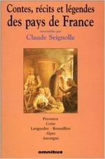 Couverture Contes, récits et légendes des pays de France