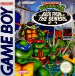 Jaquette Teenage Mutant Ninja Turtles II : Back from the Sewers