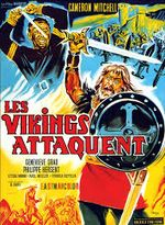 Affiche Les Vikings attaquent
