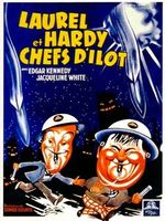Affiche Laurel et Hardy chefs d'îlot