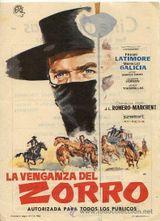 Affiche Zorro le vengeur