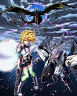 Affiche Cross Ange: Tenshi to Ryuu no Rondo