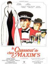 Affiche Le Chasseur de chez Maxim's