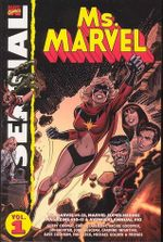 Couverture Essential Ms. Marvel Vol.1