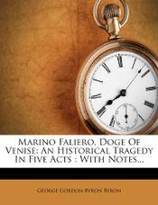 Couverture Marino Faliero doge de Venise